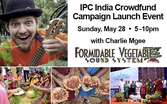 IPC India Crowdfund Campaign Launch Event
