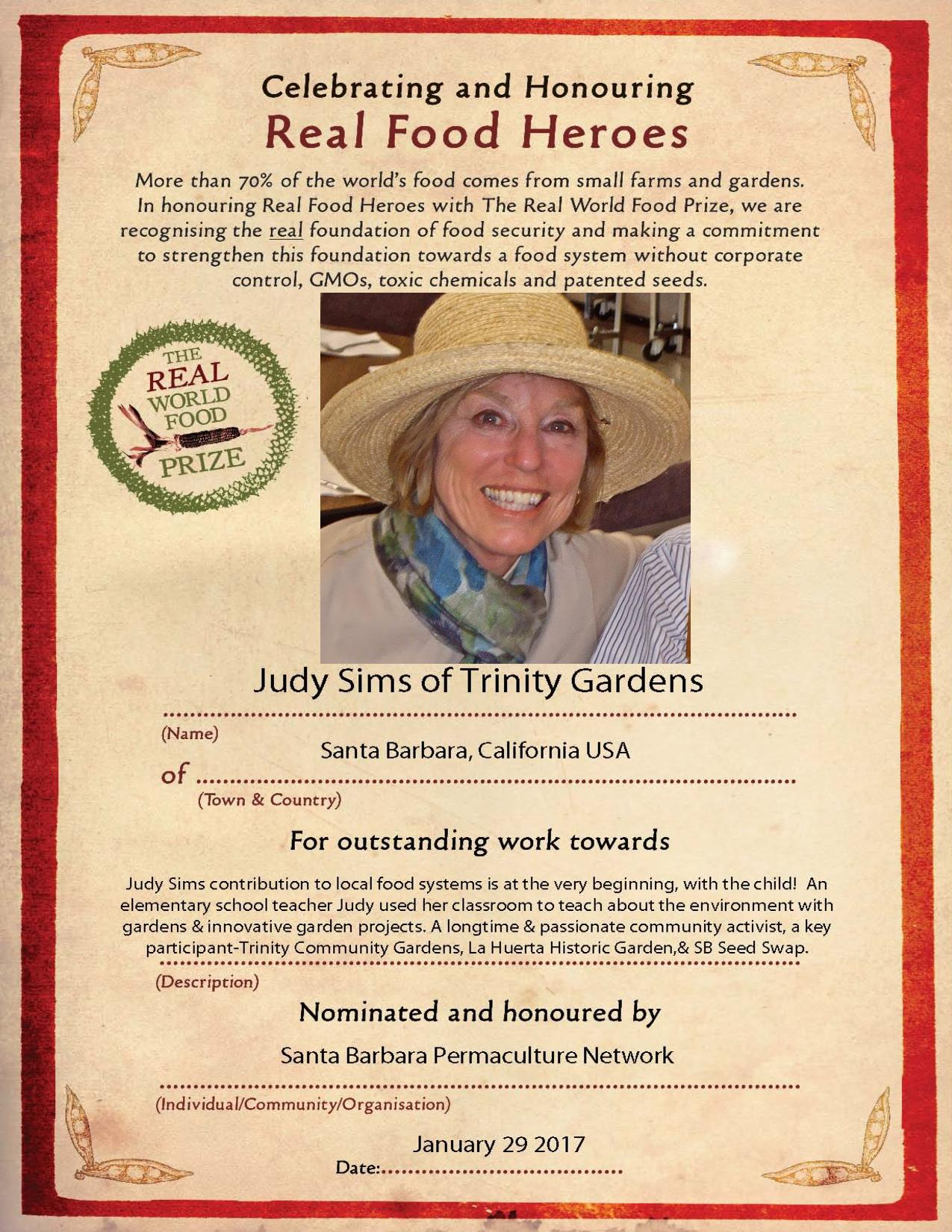 Santa Barbara Permaculture Network - local to global, an educational
