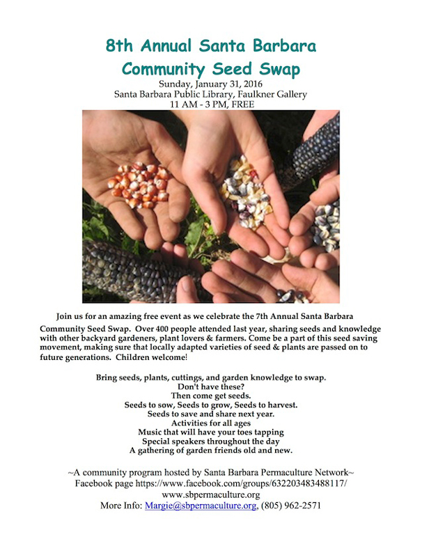 8th Annual Santa Barbara Community Seed Swap