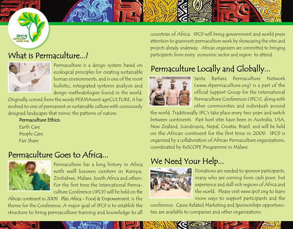 Santa Barbara Permaculture Network Local To Global An
